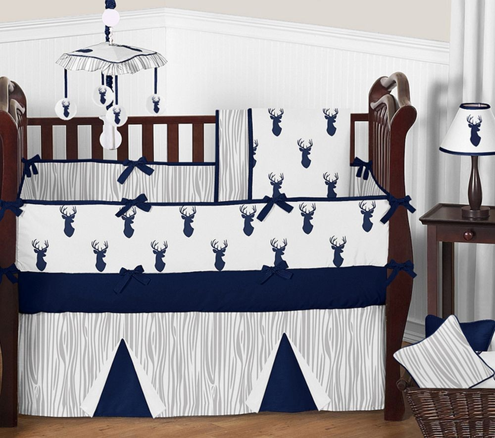 Stag Crib Set by Sweet Jojo Designs