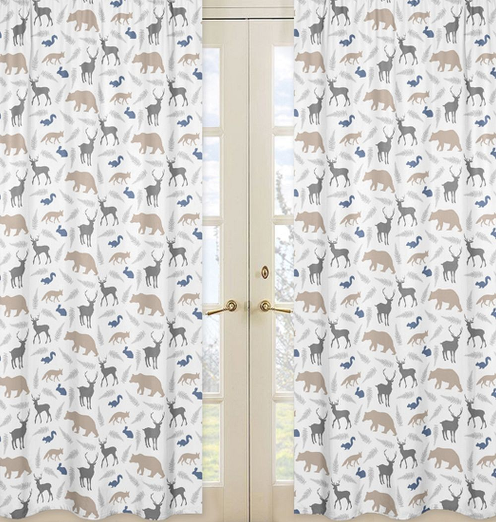 Woodland Animals Window Panels