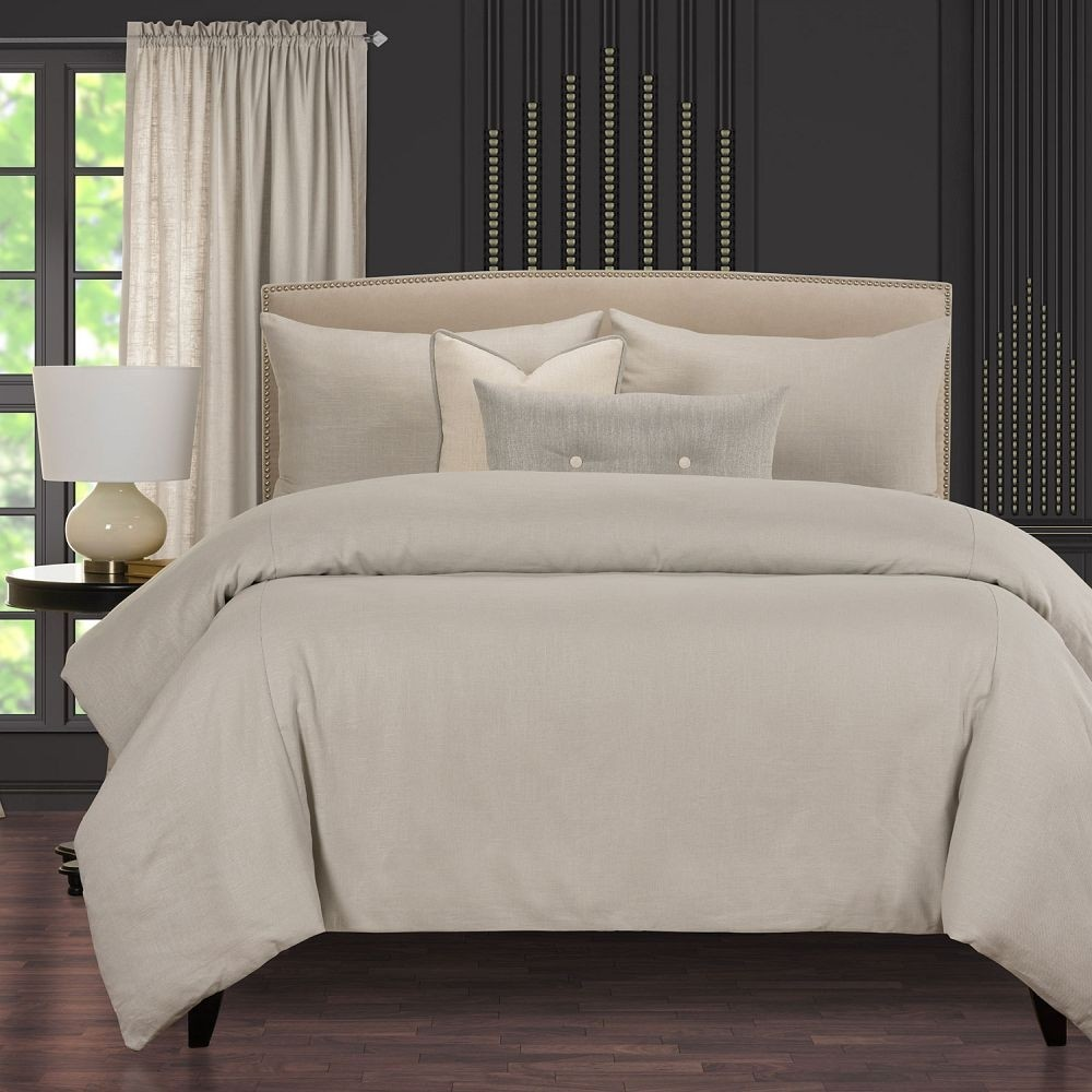 Afternoon Cafe Oat Comforter Set - F. Scott Fitzgerald Signature Collection