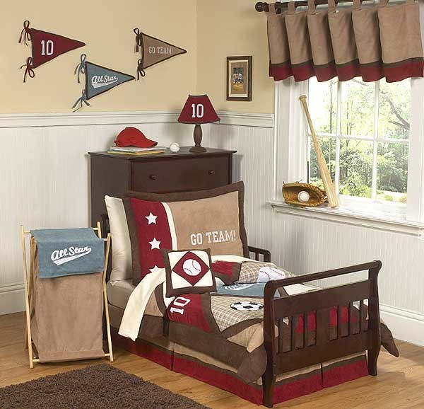 All Star Sports Toddler Bedding Set By Sweet Jojo Designs