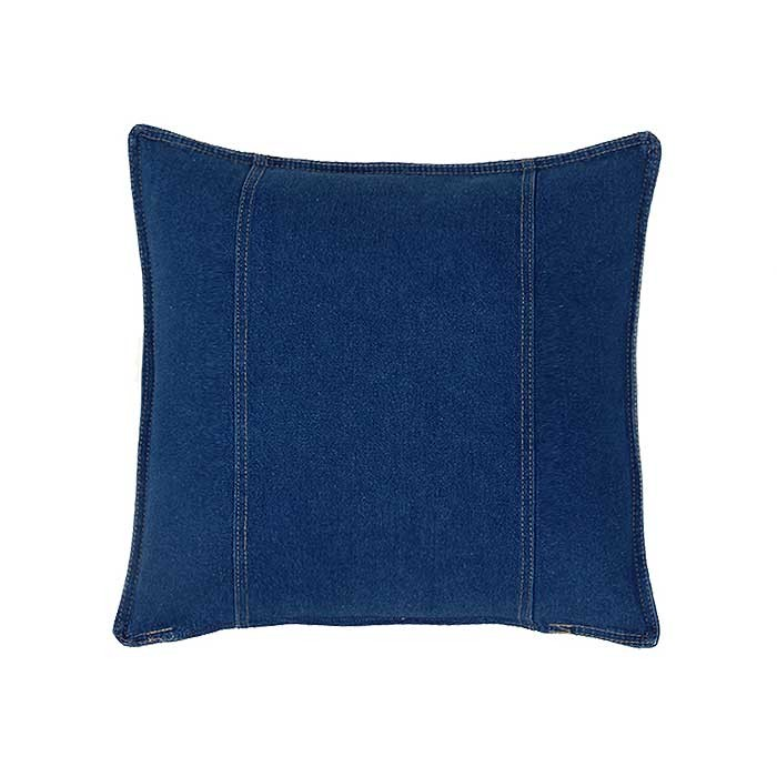 American Denim Square Pillow