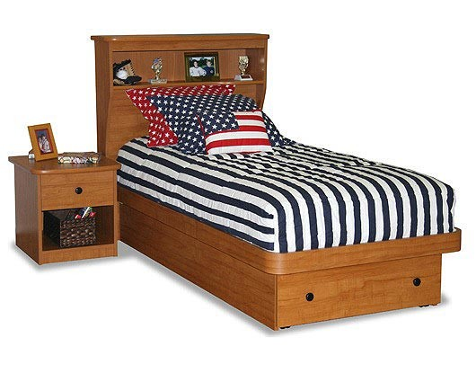 Stars & Stripes Tailored Pillow Shams - Choose Stars or Stripes, Red or Navy Blue