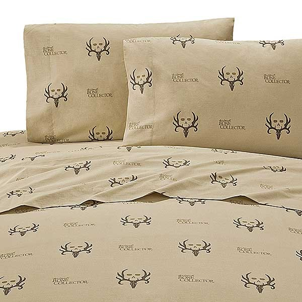 Bone Collector Sheet Set - Extra long Twin Size