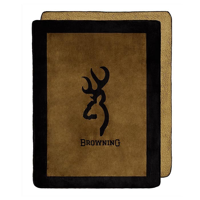 Browning Buckmark Throw Blanket