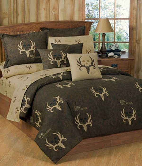 Bone Collector Comforter & Sham Set