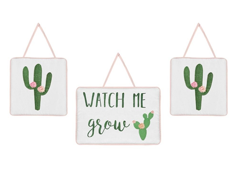 Cactus Floral Wall Hanging