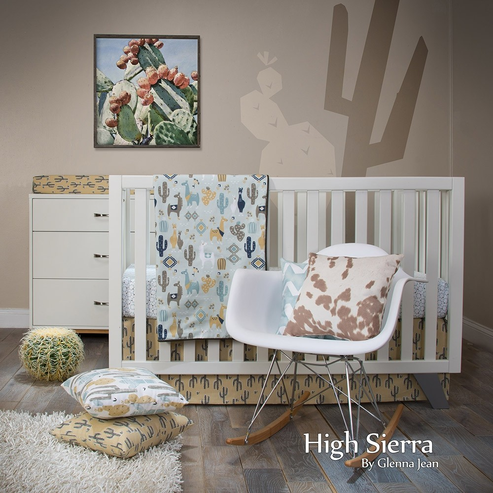 High Sierra 3 Piece Crib Set