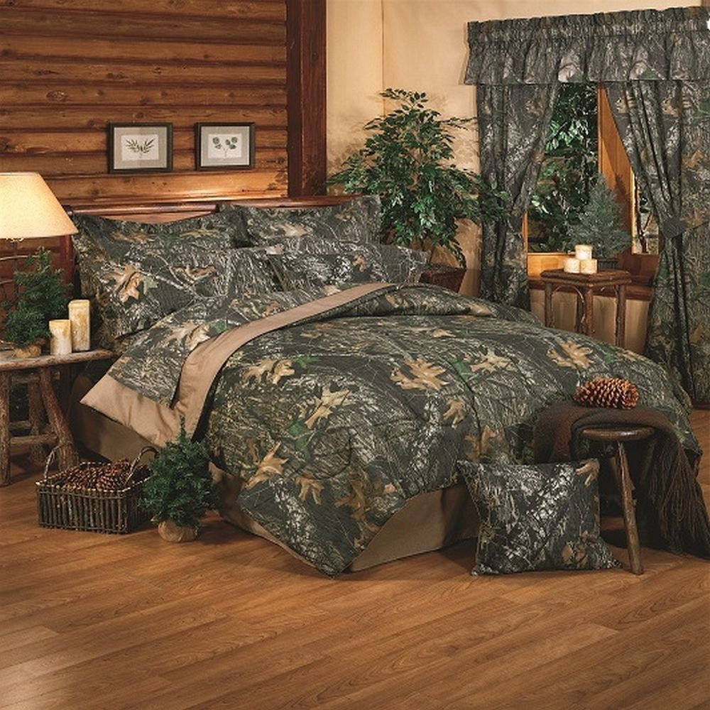 Mossy Oak New Break Up Comforter Set - Full Size