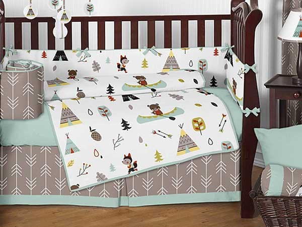 Greatest Outdoor Adventure Crib Bedding Set by Sweet Jojo Designs - 9 piece  LW75