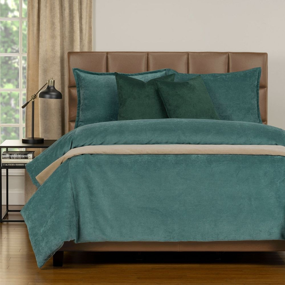 Duvet Cover Set from the Mixology Collection - Full Size - Sea Blue