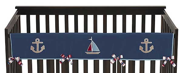 Nautical Nights Collection Long Rail Guard Cover