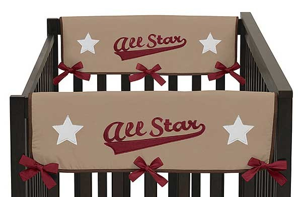 All Star Sports Collection Side Rail Guard Covers - Set of 2