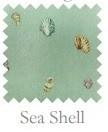 Seashell Print 18 X 18 Square Pillow by Mayfield