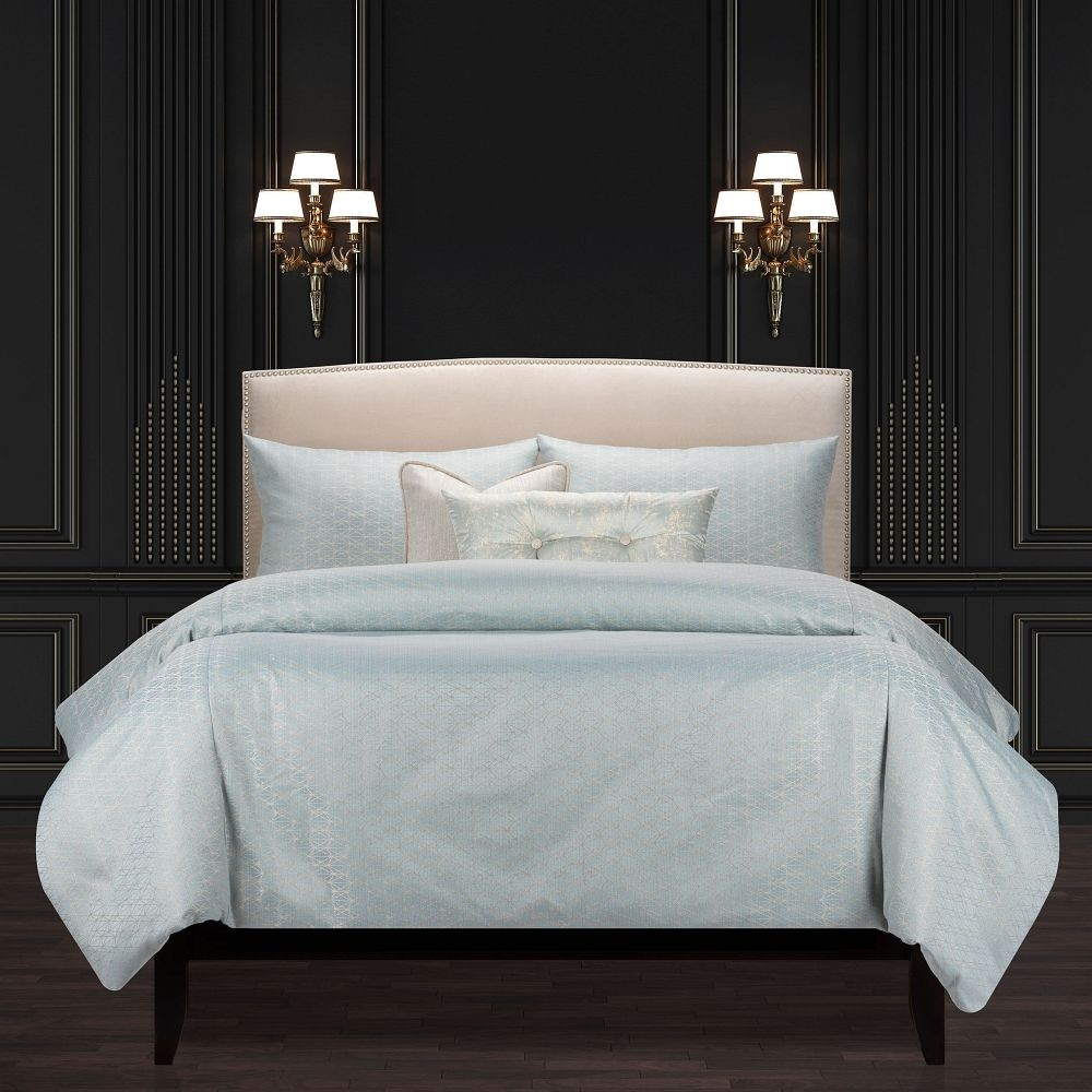 Star Attraction Mist Comforter Set - F. Scott Fitzgerald Signature Collection