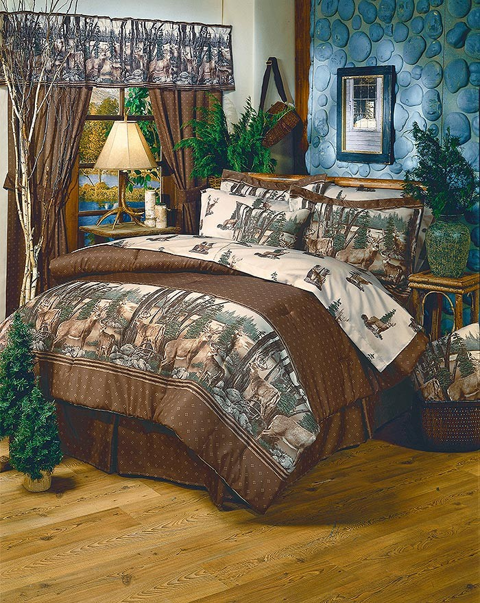 Whitetail Dreams Sheet Set - Full Size