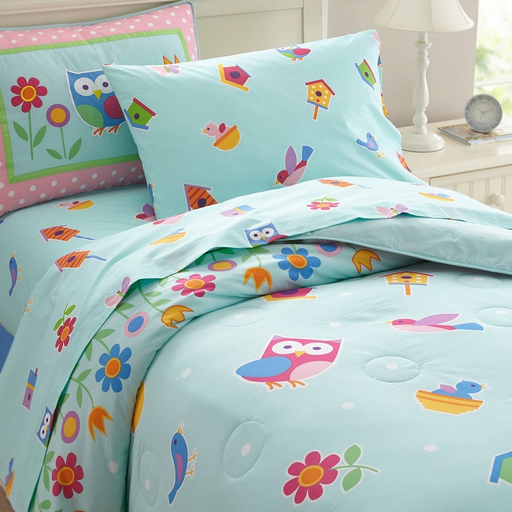 Birdie Twin Size Comforter Set by Olive Kids