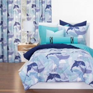 Lifes Porpoise Comforter Set from Crayola