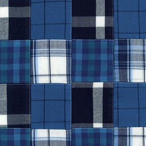 Navy Madras Plaid Comforter by California Kids | Plaid Bedding | Madras Plaid Bedding | Bedding for Boys | Teen Bedding | Boys Comforter