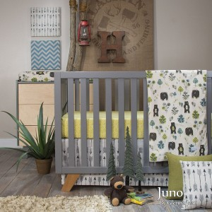 Juno 3 Piece Crib Set (Redesign)
