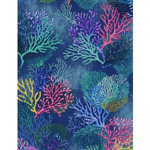 Coral Reef Bunk Topper 4 Corner Hugger Comforter by California Kids