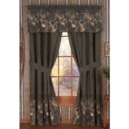Browning Whitetails Drapes - Clearance