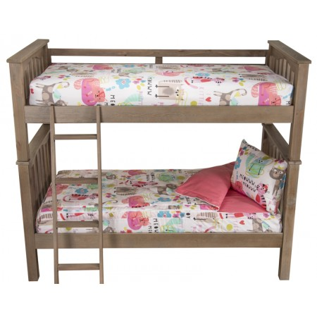 Solid Color Bunkie Set - Twin Size - Includes Pillow Sham - Available in Fun Crayola Colors