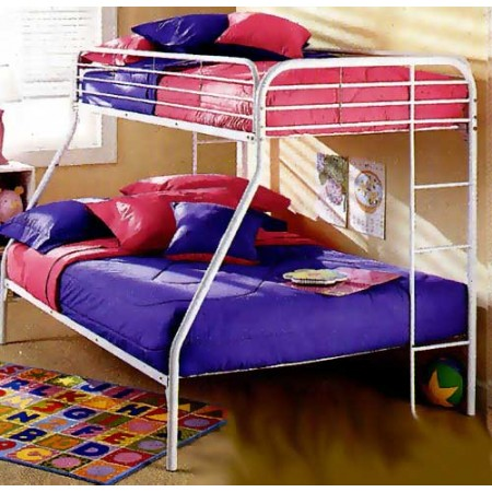 Solid White Bunkbed Cap - Twin Size - Clearance