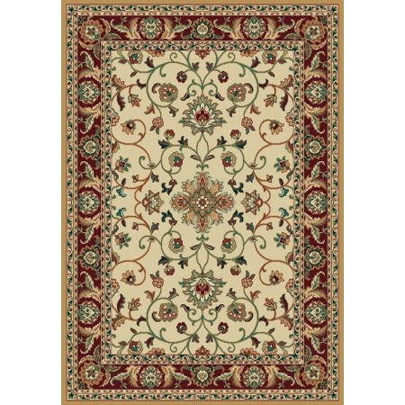 "Columbia Cream Area Rug (94"" X 126"")"