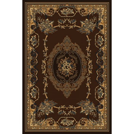 "Lexington Brown Accent Rug (22"" X 36"")"