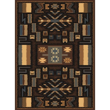 "Pelham Brown Accent Rug (22"" X 36"")"