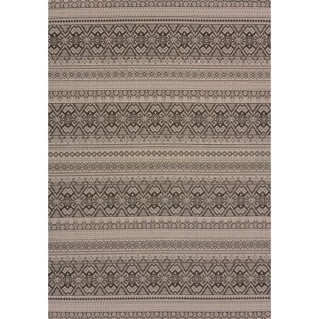 "Alfresco Silver Area Rug (63"" X 90"")"