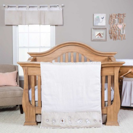 Quinn 3 Piece Crib Bedding Set