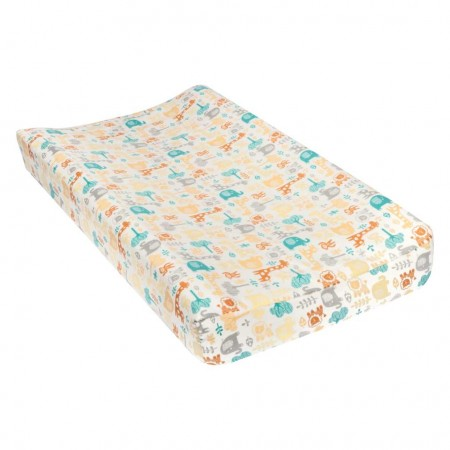 Lullaby Zoo Deluxe Flannel Changing Pad Cover