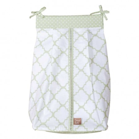Sea Foam Diaper Stacker