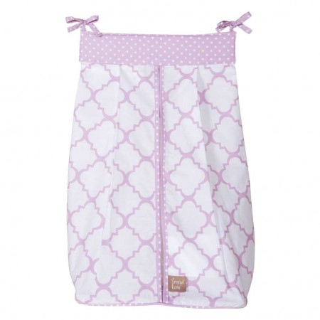 Orchid Bloom Diaper Stacker