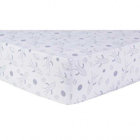Galaxy Fitted Crib Sheet