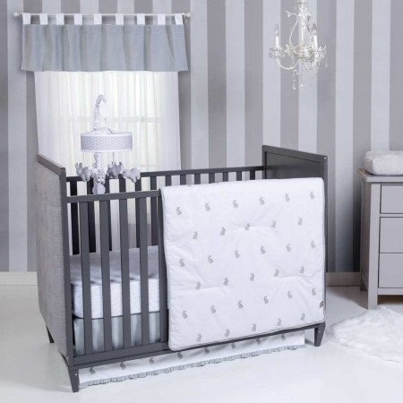Bunnies 3 Piece Crib Bedding Set