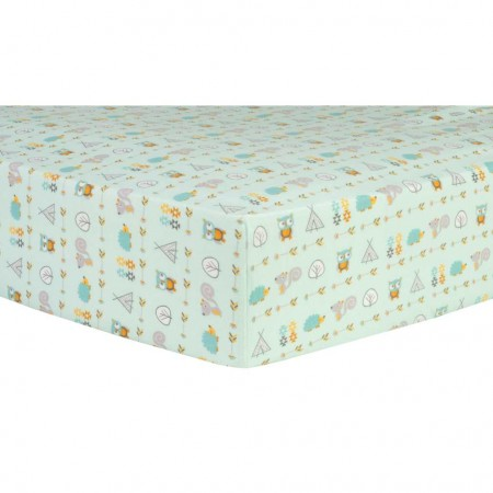 Southwest Adventures Deluxe Flannel Fitted Crib Sheet