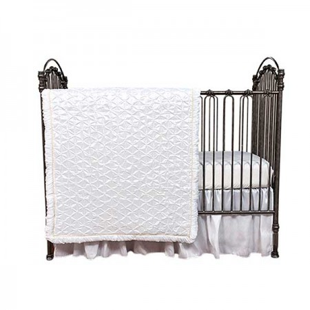 Marshmallow 3 Piece Crib Bedding Set