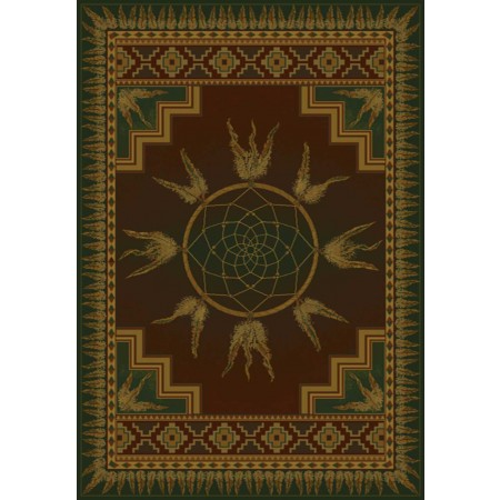 Dream Catcher Lodge Area Rug - Southwestern Style Area Rug
