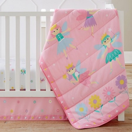 Fairy Princess 3 pc Crib Set