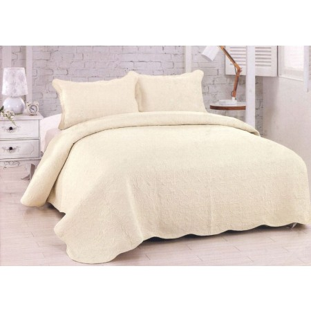 Harmonious Mist King Size Quilt Set - Includes 2 Standard Pillow Shams