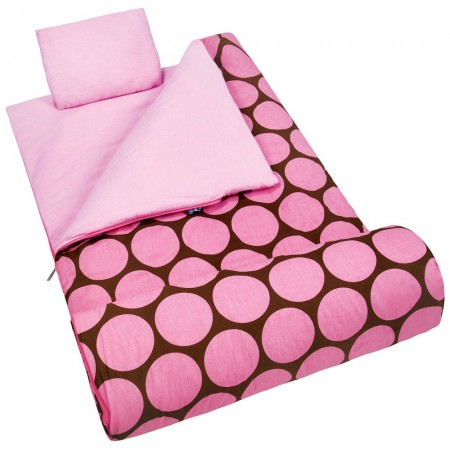 Big Dot Pink Sleeping Bag