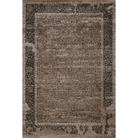 """Weathered Treasures Relic Taupe Area Rug (63"""" X 84"""")"""