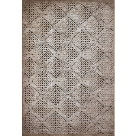 DEVONSHIRE TAUPE Area Rug - Transitional Style Area Rug