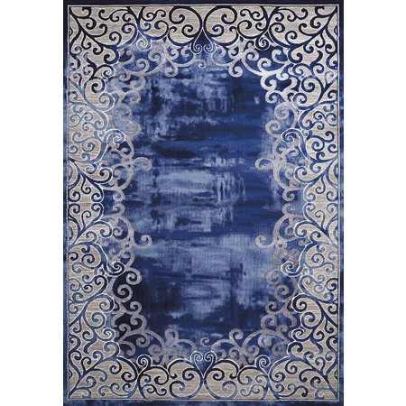 LUMINOUS MIDNIGHT Area Rug - Transitional Style Area Rug