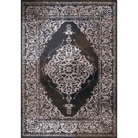 PERSIA DARK TAUPE Area Rug - Transitional Style Area Rug  - from the Mirage Collection by Christopher Knight