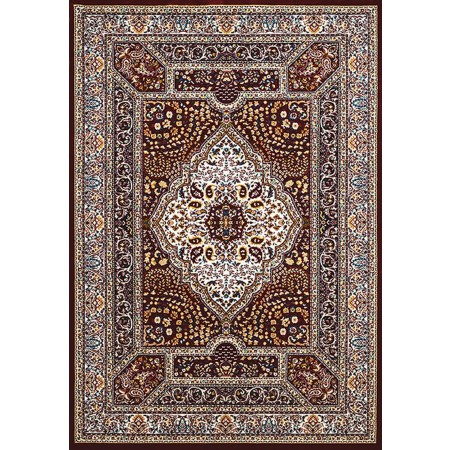 QUM DIAMOMD RUBY Area Rug - Traditional Style Area Rug