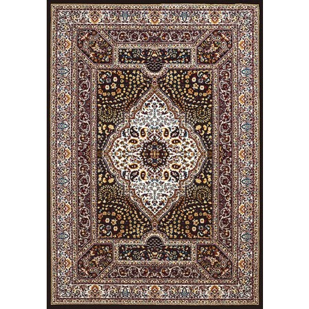QUM DIAMOMD NAVY BLUE Area Rug - Traditional Style Area Rug