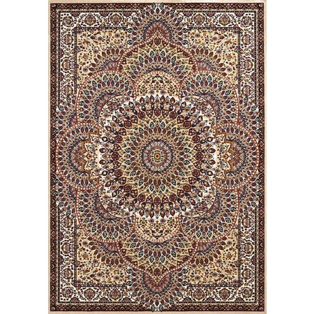 SAROUK IVORY Area Rug - Traditional Style Area Rug